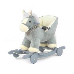 Hojdací koník Milly Mally Polly sivý #1