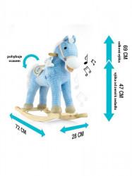 Hojdací koník Milly Mally Pony bežový #5