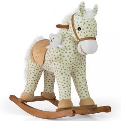 Hojdací koník Milly Mally Pony Gray Dot béžová