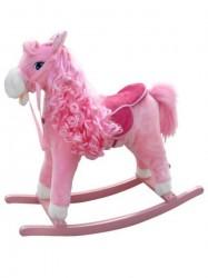 Hojdací koník Milly Mally Princess pink ružová