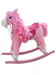 Hojdací koník s melódiou Milly Mally Princess pink ružová