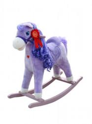 Hojdací koník s melódiou Milly Mally Princess violet fialová