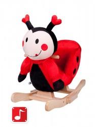 Hojdacia hračka PlayTo lienka Červená