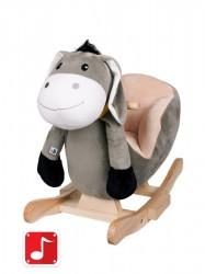 Hojdacia hračka PlayTo oslík sivá
