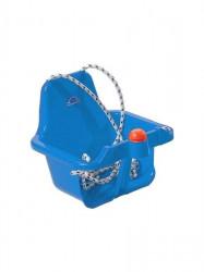 Hojdačka s pískátkem modrá