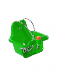 Hojdačka s pískátkem - svetla svetlo zelená
