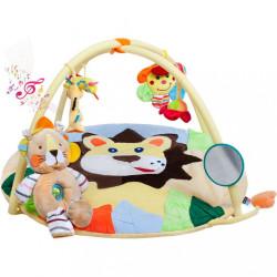 Hracia deka s melódiou PlayTo levíča s hračkou Žltá