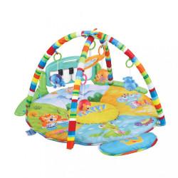 Hracia deka s piánkom Bayo safari multicolor