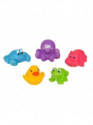 Hračka do kúpeľa Akuku zvieratka malé multicolor