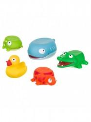 Hračka do kúpeľa Akuku zvieratka multicolor