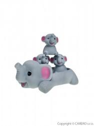 Hračka do vody Bayo sloni sivá