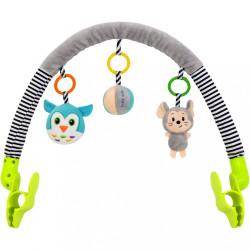 Hračka na kočík Baby Mix myška, sova podľa obrázku