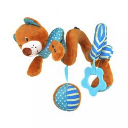 Hračka na postieľku Špirála Baby Mix medvedík modrý