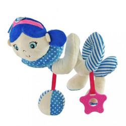 Hračka na postieľku Špirála Baby Mix námorník dievča blue modrá