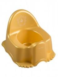 Hrajúci detský nočník Royal zlatý arany