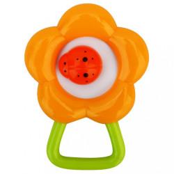 Hrkálka Baby Mix kvietok oranžová