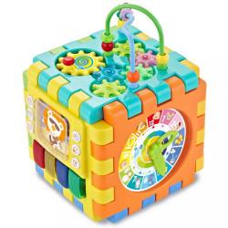 Interaktívna hracia kocka Baby Mix veľká multicolor
