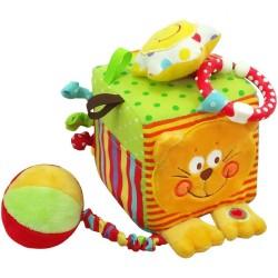 Interaktívna hračka Baby Mix kocka mačka podľa obrázku