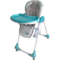 Jedálenská stolička Baby Mix Junior blue modrá