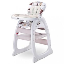 Jedálenská stolička CARETERO HOMEE beige béžová