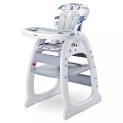 Jedálenská stolička CARETERO HOMEE grey sivá
