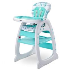 Jedálenská stolička CARETERO HOMEE mint mätová