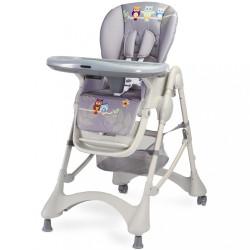 Jedálenská stolička CARETERO Magnus New graphite sivá