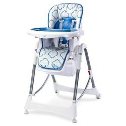 Jedálenská stolička CARETERO One blue modrá