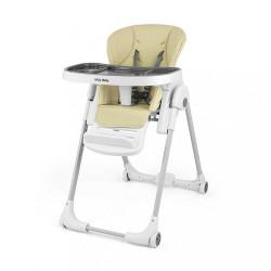 Jedálenská stolička Milly Mally Milano beige béžová