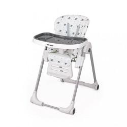 Jedálenská stolička Milly Mally Milano Jumbo biela