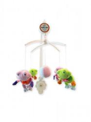 Kolotoč nad postieľku Baby Mix Žabky podľa obrázku