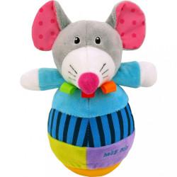Kývajúca hračka Baby Mix myška podľa obrázku