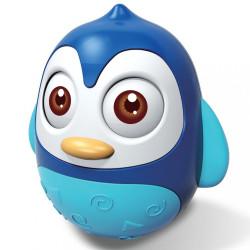 Kývajúca hračka Baby Mix tučniak blue modrá