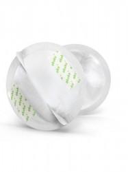 Laktačné ultrasavé prsné vložky Akuku 30 ks biela