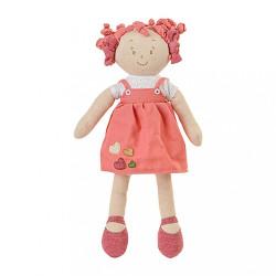 Látková bábika Lily Baby Ono ružová