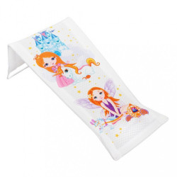 Látkové lehátko na kúpanie Malá Princzna biele