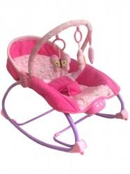 Lehátko pre miminko 2v1 Baby Mix ružové