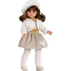 Luxusná detská bábika-dievčatko Berbesa Roberta 42cm béžová