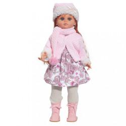 Luxusná detská bábika-dievčatko Berbesa Tamara 40cm ružová
