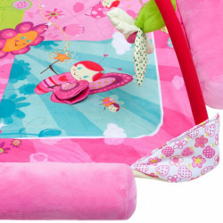 Luxusná hracia deka s melódiou PlayTo zvieratká ružová #3