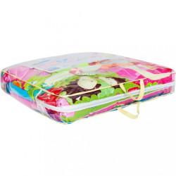 Luxusná hracia deka s melódiou PlayTo zvieratká ružová #4