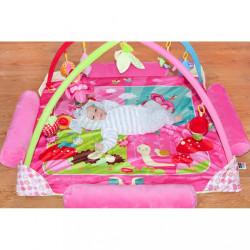 Luxusná hracia deka s melódiou PlayTo zvieratká ružová #6