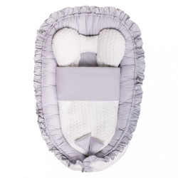 Luxusné hniezdočko s perinkou pre bábätko Králiček Belisima béžové