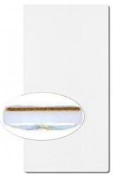 Matrac molitan-kokos 140x70 cm biela