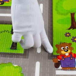 Multifunkčná skladacia hracia podložka PlayTo Cesta zelená #3