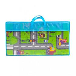 Multifunkčná skladacia hracia podložka PlayTo Cesta zelená #5