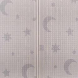 Multifunkčná skladacia hracia podložka PlayTo Nočná obloha hnedá #2