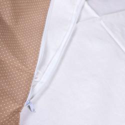 Obliečka béžová s bodkami na zavinovačku Dráčik #2