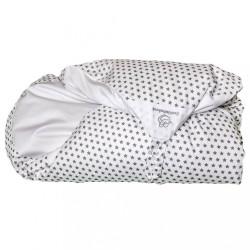 Obliečka biela s hviezdičkami na zavinovačku Maxi Dráčik
