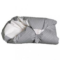 Obliečka sivá s hviezdičkami na zavinovačku Maxi Dráčik
